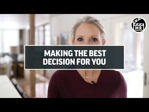 The simple hack to make the best decision | Mel Robbins