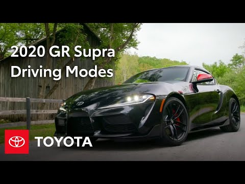 2020 Supra Specs & Driving Modes: Sport Mode, Launch Control & More | Toyota