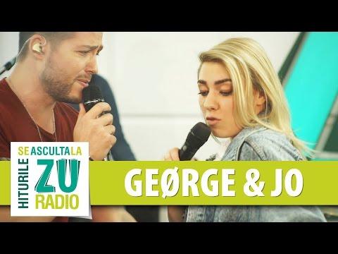 GEØRGE si JO - Don't Worry (Cover Madcon ft. Ray Dalton - Live la Radio ZU)