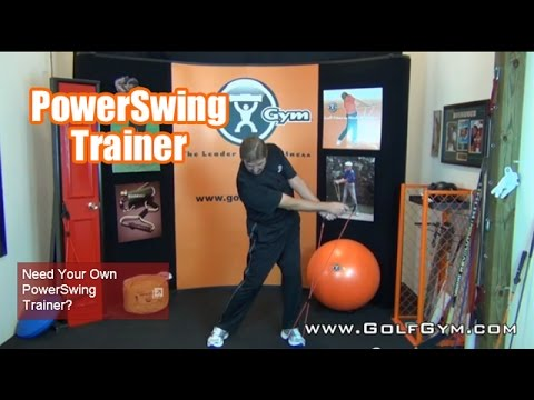 Golf Fitness – Got 3 Minutes? GolfGym 3 Minute PowerSwing Trainer Workout #3