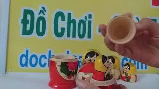 Đồ Chơi Búp Bê Nga 7 Con - dochoicaocap.com