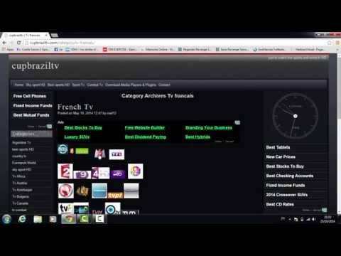 Regarder la tv en direct sur pc  Watch Tv For Free