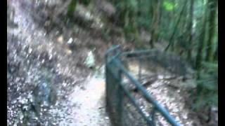 Cascade du Hérisson jura mtb rit vtt frankrijk met mtb langs de watervallen bij camping la pergola