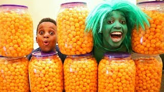 CHEESE BALL CHALLENGE!!! - Shiloh and Shasha - Onyx Kids