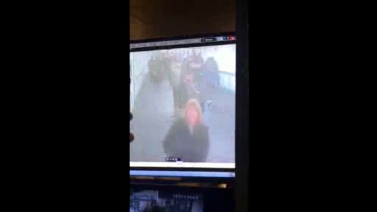 Moment Of Explosion At Times Square Subway Station