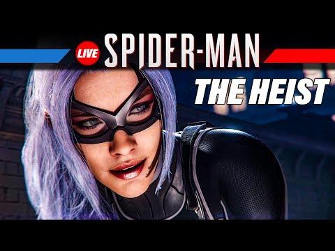 SPIDER-MAN THE HEIST DLC Gameplay German | Marvel's Spiderman PS4 Pro Live Let's Play Deutsch