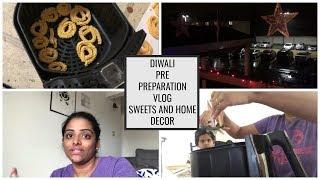 தமிழ் VLOG:DIWALI PRE PREPARATION VLOG  PREPARING MURUKKU USING AIR FRYER  DUSKY PRINCESS
