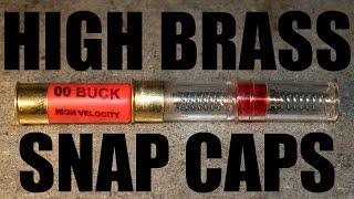 "How To Build Diy ""high Brass"" 12 Gauge Snap Caps For Safe Shotgun Training"