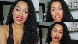 Easy Fall Makeup Look + 3 Lip Options! Thumbnail