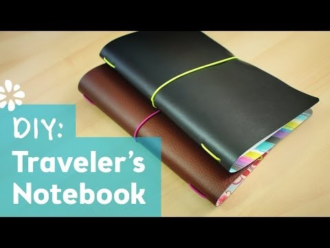 DIY Midori Style Traveler's Notebook | Sea Lemon