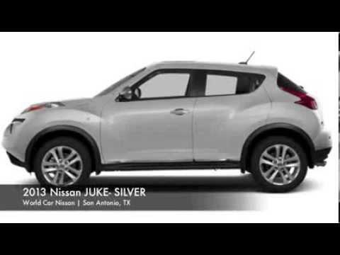 2013 nissan juke color options at world car nissan in san antonio tx youtube. Black Bedroom Furniture Sets. Home Design Ideas