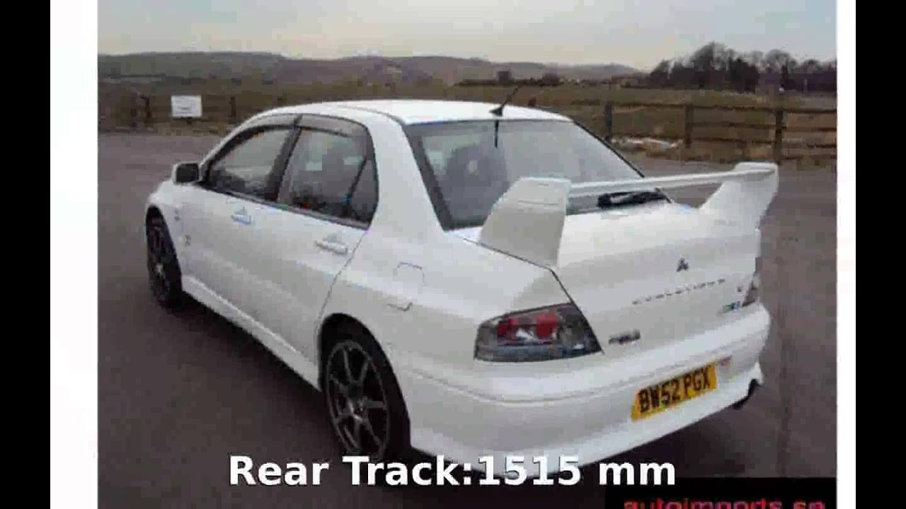 2002 Mitsubishi Lancer Evolution VII GTA Info Specification  YouTube