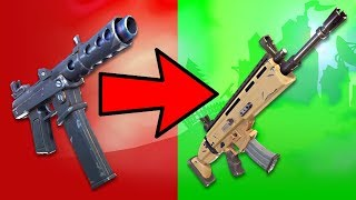 RANKING EVERY GUN IN FORTNITE FROM WORST TO BEST!