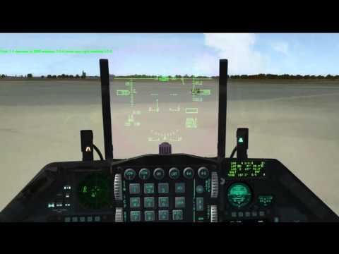 Bridge Laser Bombing - Falcon 4.33 BMS