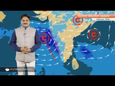 Weather Forecast for June 23: Monsoon enters Gujarat; Heavy rain in Karnataka, Goa