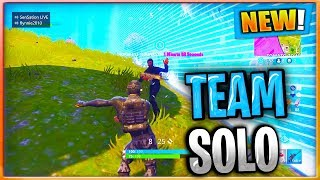 Getting Paird In Solos By Accident // Fortnite Battle Royale