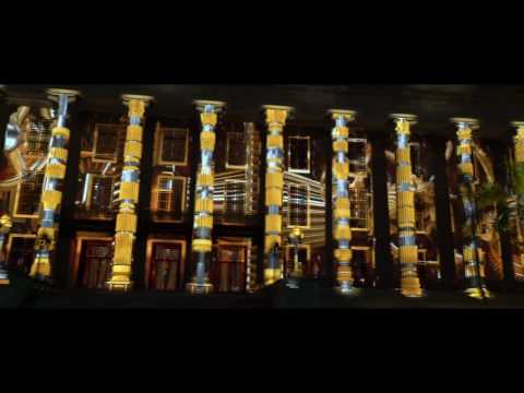 National Gallery Singapore - Light to Night Festival Projection, Nov 2016 - FULL SHOW