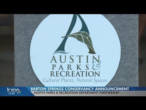 Partnership to improve Barton Springs