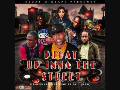 NEW MIX DJ GAT UP INNA THE STREET DANCEHALL MIX AUGUST 2017 [RAW] FT ALKALINE/AIDONIA 1876899-5643