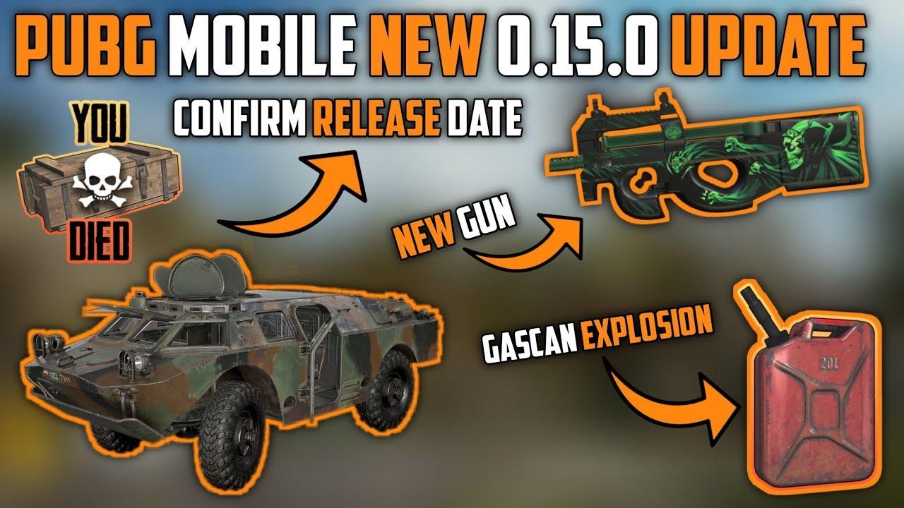 PUBG Mobile New 0.15.0 Version Update Full Information & Release Date ll Tech Gamer