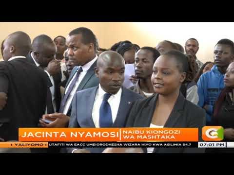 Mahakama yaagiza Mwana habari wa Citizen, Jacque Maribe azuiliwe siku 10 zaidi