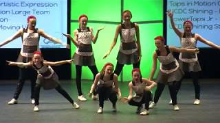 Taps in Motion Chix - Artistic Expression - 2018 CCA Showdown