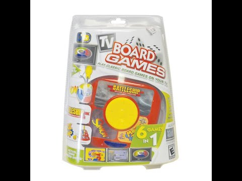 Plug N Play Games: Hasbro TV Board Games Battleship/Simon/Mouse Trap