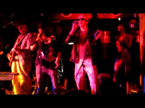 Alabama 3 - Hostage feat Tenor Fly live at the album launch party
