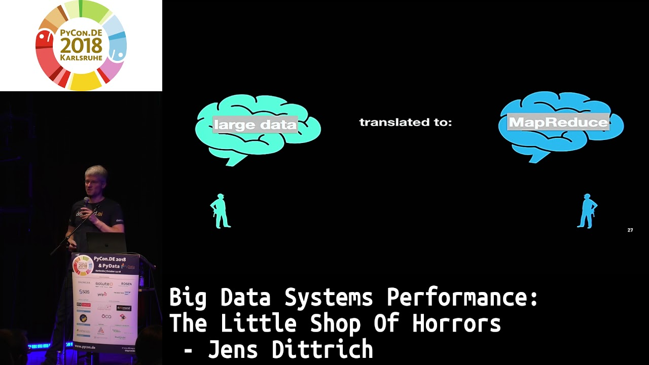 Image from Big Data Systems Performance: The Little Shop of Horrors