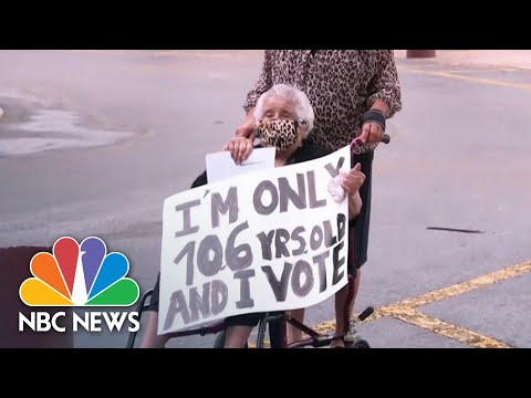 Early In-Person Voting Begins In Florida | NBC News NOW