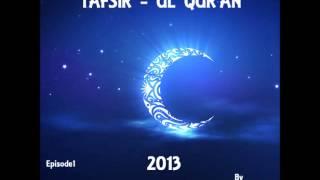Ahmadiyya Muslim Jama'at Nig. Ramadan Tafsir-ul-Qur'an 2013 by Dr A. Majeed Bello episode 1