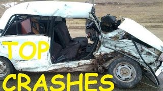 TOP Crashes Car Crash Compilation 23 01 2017