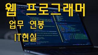 웹 프로그래머 - 직업소개 (연봉, 업무, 현실, 프로…