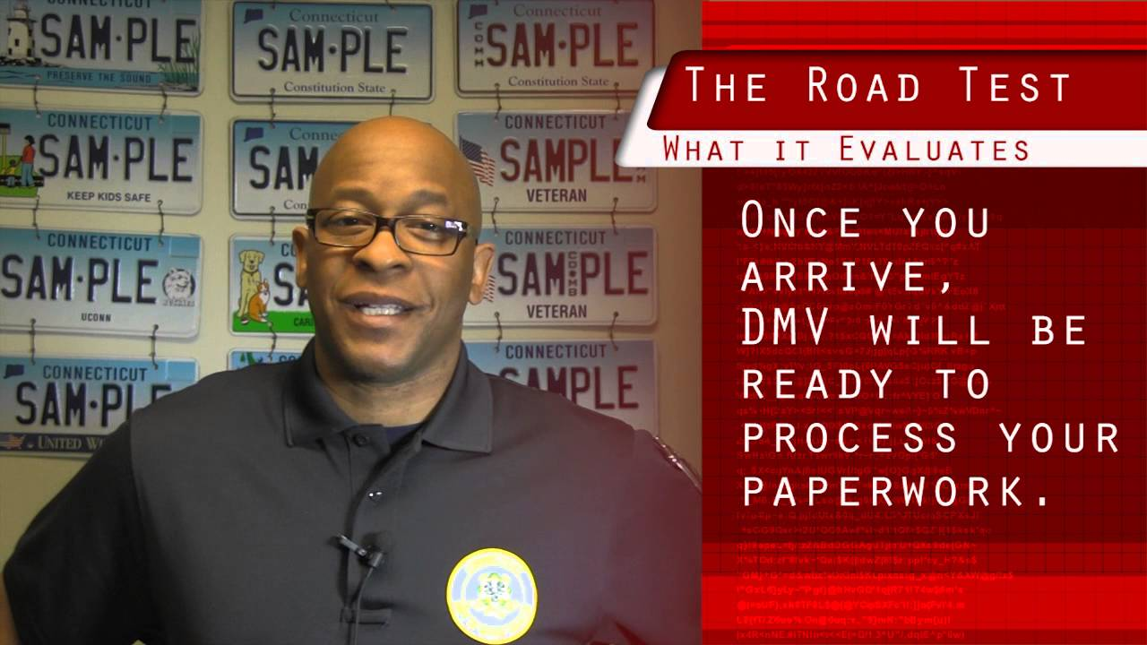 CT DMV - Taking the Road Test - YouTube