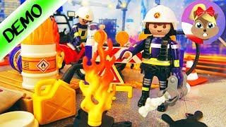 Playmobil KALENDARZ ADWENTOWY 2018 straż pożarna na budowie - otwarcie wszystkich 24 okienek!