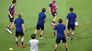 【SAMURAI BLUE】日本代表 vs コスタリカ代表 - JPN vs CRC 2018.9.11