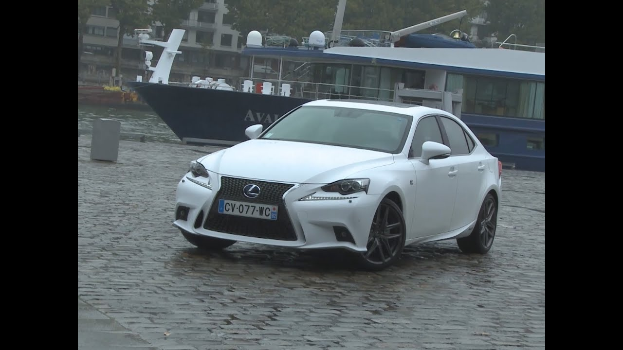 essai lexus is 300h f sport 2013 youtube. Black Bedroom Furniture Sets. Home Design Ideas