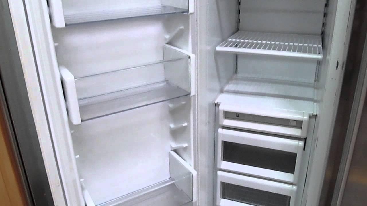 Sub Zero 42 Stainless Steel Refrigerator Freezer Side By Side 542ss Xamusa Phoenix Arizona Youtube