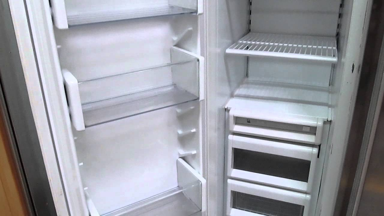 Sub Zero 42 Quot Stainless Steel Refrigerator Freezer Side By