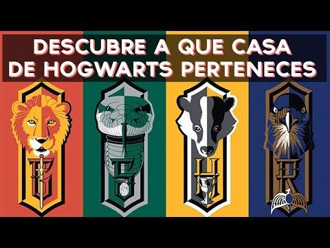 ¿A que casa de Hogwarts (Harry Potter) perteneces?   Test Divertidos