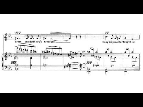 Charles Ives - Songs My Mother Taught Me (b)