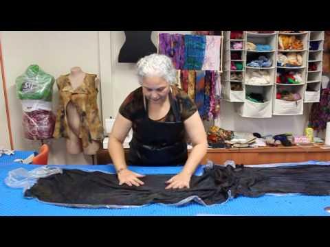Shibori felting textured ruffled nuno felt scarf pdf tutorial.
