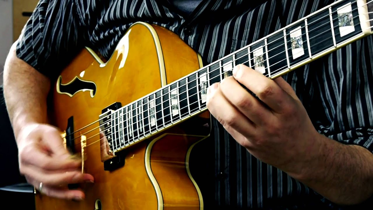 ibanez pm2aa bossa nova improvisation guitar solo over how