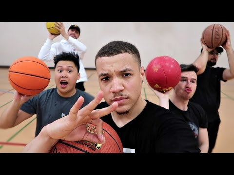 THE YOUTUBER 3 POINT CHALLENGE!!!