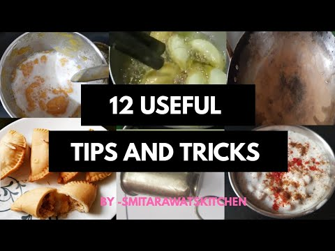 12 USEFUL TIPS AND TRICK  kitchen tips to make your life easy Indian Kitchen Tips