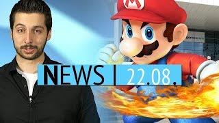 ALS ICE-Bucket-Challenge & Nintendo gewinnt die gamescom - News - Freitag, 22. August 2014