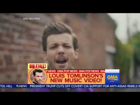 Louis Tomlinson GMA back to you