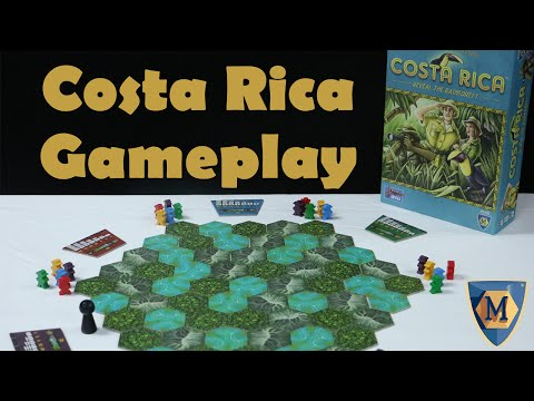 Costa Rica Demo by Mayfair Games with Josh, Rick, and Mallory of ComicWow!