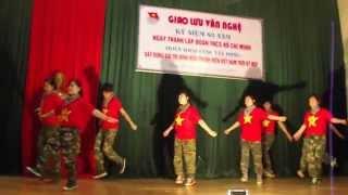 Nhảy đồng diễn: Ước mơ chiến sĩ