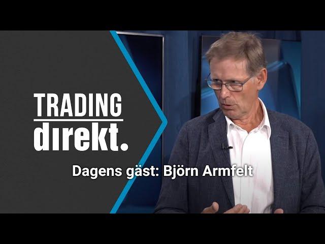 Trading Direkt 2020-06-26: Strategin som ska ge 14% årlig avkastning Gäst: Björn Armfelt
